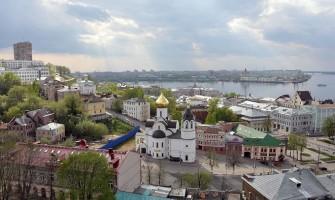 Круиз 2013, 11 мая, день нулевой, Нижний Новгород