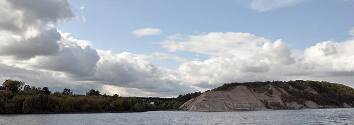 Круиз 2019, 19 сентября, день четверый, ч.2, Куйбышевское водохранилище