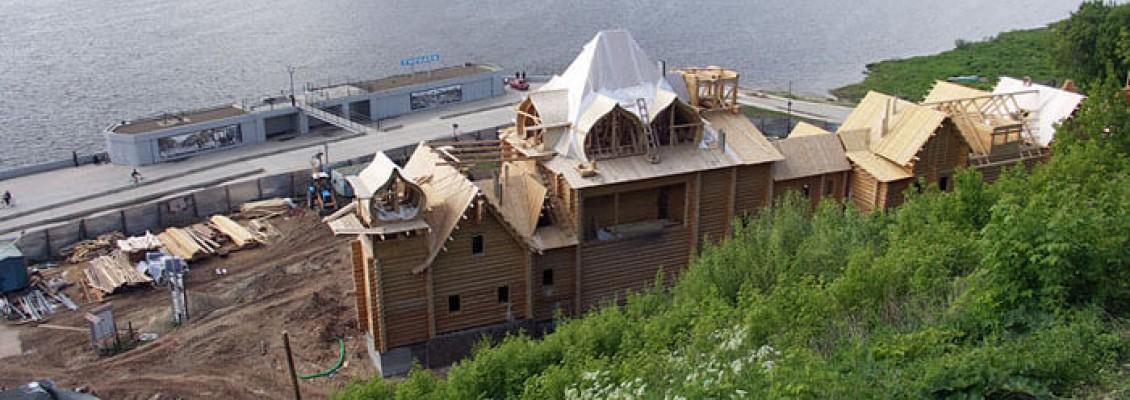 Круиз 2009, 07 июня, день четвертый, ч.2,  Городец